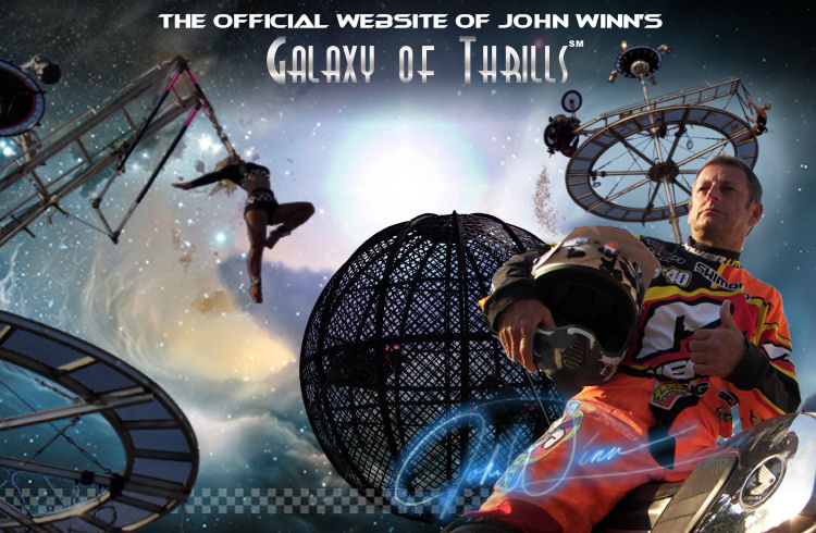The official website of John Winn's Galaxy of Thrills. Copyright 2004 - 2009 Pathway International All Rights Reserved.